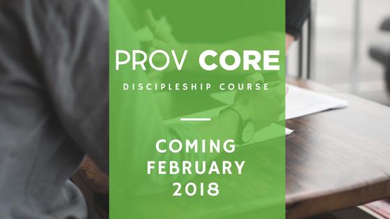 Prov Core Discipleship Course