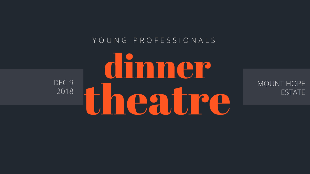 Young Professionals: Dinner Theater in the Mansion