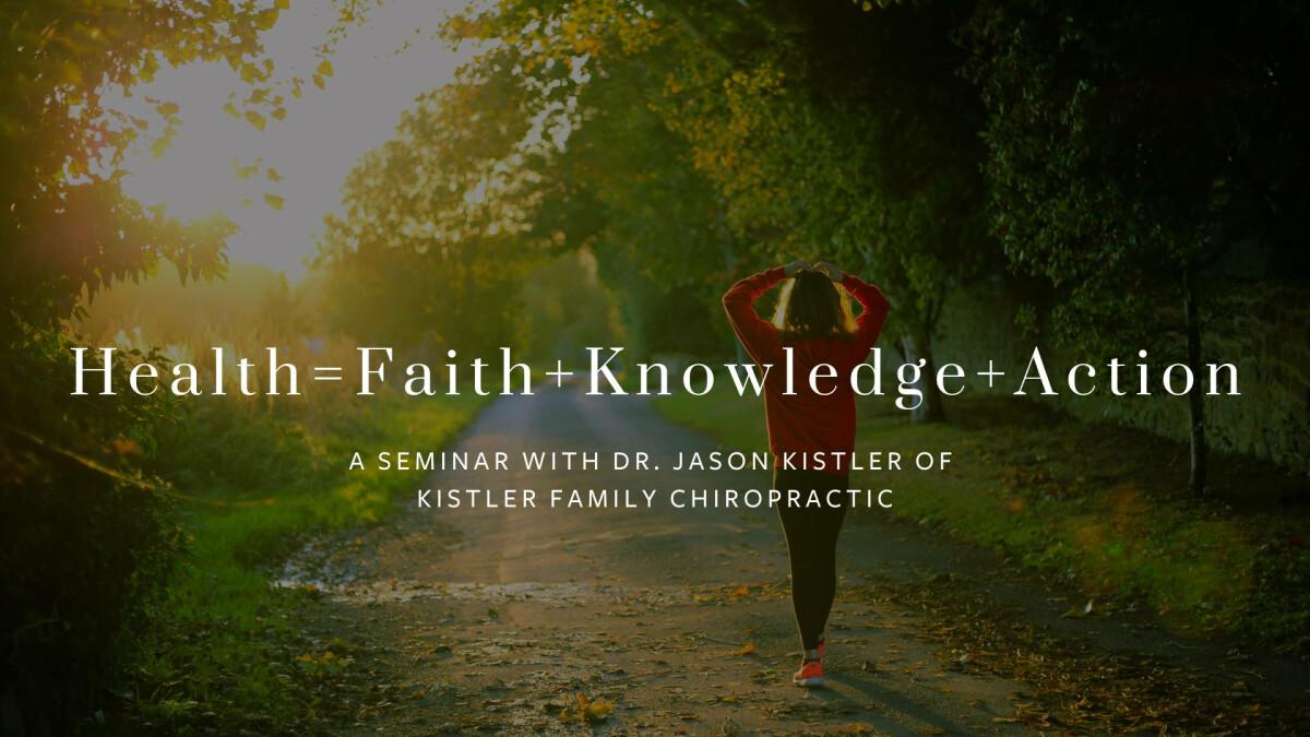 Health & Wellness Seminar with Dr. Jason Kistler
