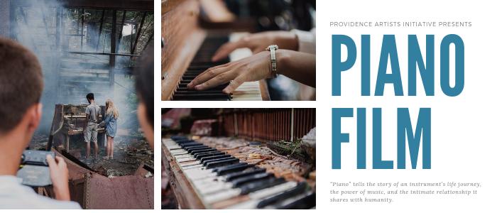 Providence Artists Initiative Presents: 'Piano Film' Premiere