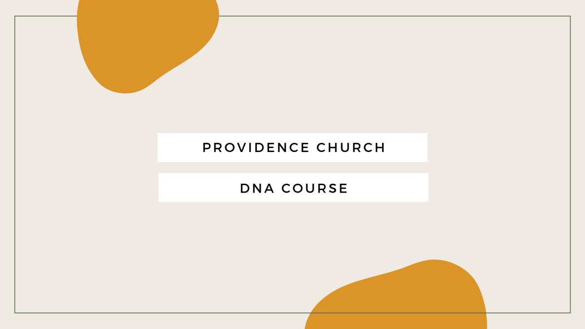 DNA Course